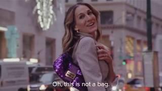 Sarah Jessica Parker Channels Carrie Bradshaw In New Fendi Campaign #BaguetteFriendsForever