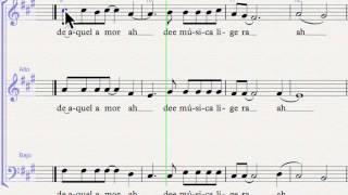 musica ligera SAB ejemplo 1