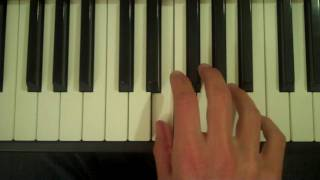 How To Play an Esus4 Chord on Piano