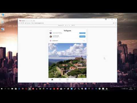 Upload poze pe Instagram din browser de pe PC