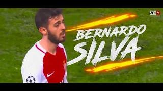 Chiêm ngưỡng tài năng của Bernardo Silva - Tân binh 43 triệu bảng của Manchester City 👍😱😱