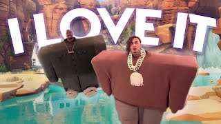 Kanye West & Lil Pump - I Love It (Fortnite Parody)