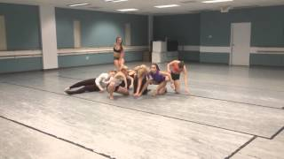 Olivia Cece Contemporary combo Choreography - You should know where I'm coming from- Banks