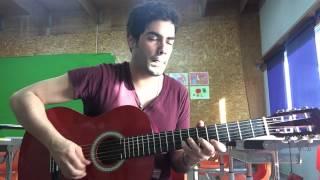 João Graça - Dança Ma Mi Criola (Tito Paris) - Semba Guitar Solo 2015