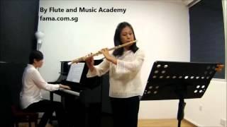 Flute ABRSM Grade 4 2014-2017, A3: Mozart's Menuetto and Trio from Flute Quartet in A K298
