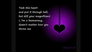 """Not Over You"" - Gavin DeGraw (ft. Max Schneider) (Lyrics)"