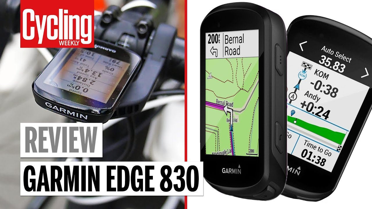 Garmin Edge 830 Review