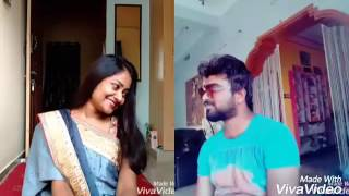 Arere ekkada ekkada song from nenu local Dubsmash by Gayatri Ram Allam and actor joshi episode 34