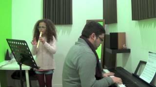 Maria Milheiro Flauta Prof Catarina Lopes Melodia tradicional Francesa Acomp João Ferreira Dez 2013