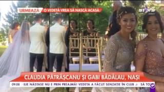Nuntă mare în lumea mondenă! Raluca Ogică şi-a unit destinele cu fotbalistul Adrian Ropotan