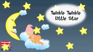 Twinkle Twinkle Little Star Lyric - Lullaby Song - Nursery Rhymes Children Lullaby