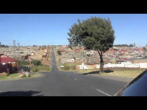 PAUL HODGE: SOWETO SOUTH AFRICA, SOLO AROUND WORLD IN 47 DAYS, Ch 84, Amazing World in Minutes