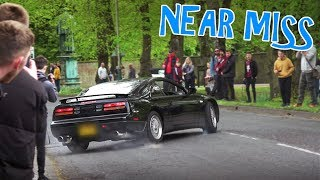 Supercars and Tuners Leaving a Car Show - April 2019