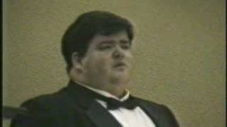 Frank Tenaglia, tenor The Lord's Prayer
