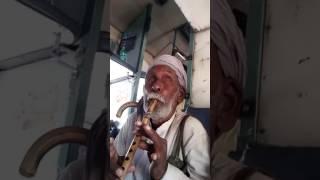 Flute play by an old man so beautifully hindi bhajan yasomati mayya se bole nand lala