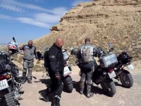 iGS4Adventure – Monument Valley in Morocco ( BMW R1200GS, BMW R1150GS)