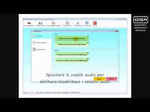 SOFTCARD - Abilitare / disabilitare il suono di avvenuta lettura / scrittura