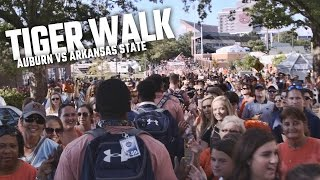 See what it's like to be a part of Tiger Walk