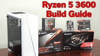 Ryzen 5 3600 — Ultimate 1080p — $1,000 PC Build Guide — September 2019