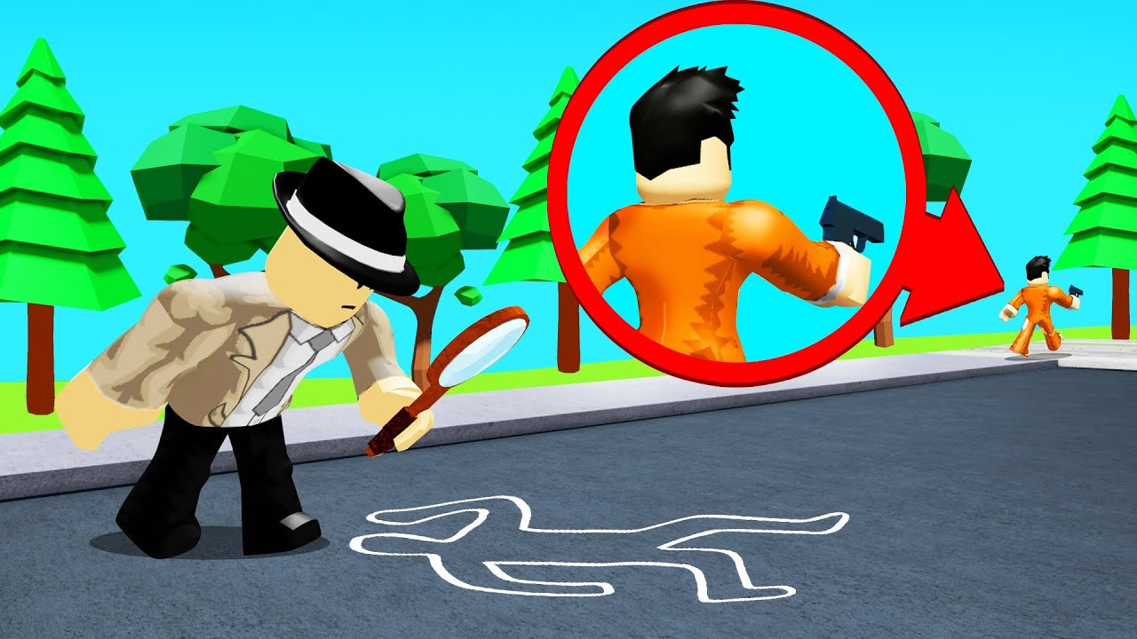 Jelly - FINDING The ROBLOX MYSTERY MURDERER! (Detective)
