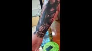 Mare Tattoo Sleeve In Progress (Robert Ciric)