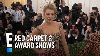 Blake Lively Models on the Met Gala Red Carpet   E! Live from the Red Carpet