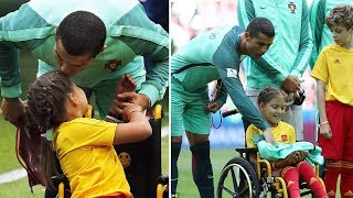 Cristiano Ronaldo ●  I'm Not Arrogant  - A Great Person 2017