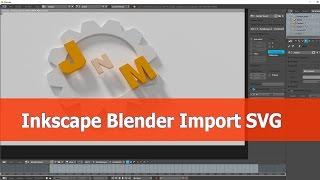 Blender Import svg from Inkscape tutorial