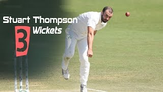 Stuart Thompson's 3 Wickets Against Afghanistan || Only Test || Day 2 || Afg vs Ire in India 2019