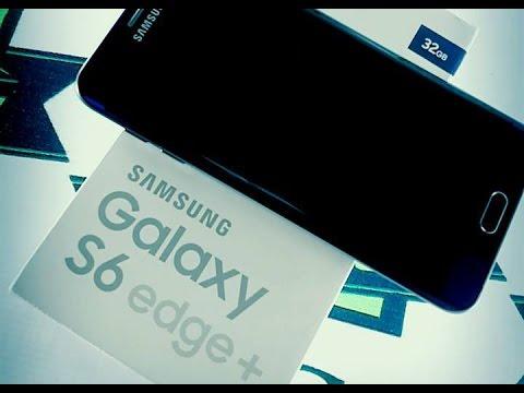 فتح صندوق جهاز Samsung Galaxy S6 Edge Plus