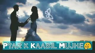 Aapki Najro Ne Samjha-Sanam   Romantic Whatsapp Status Video
