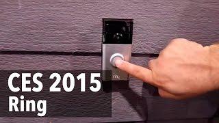 Campainha digital permite atender a porta à distância #CES2015