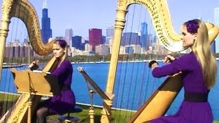 IT IS YOU I HAVE LOVED (Shrek) Harp Twins - Camille and Kennerly