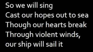 Down River - The Temper Trap with on-screen lyrics