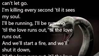 OneRepublic - Love Runs Out lyrics