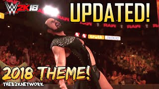 Drew McIntyre W/ NEW Theme 2018  -  WWE 2K18 Entrance