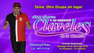 OTRO OCUPA MI LUGAR...(D.R.) - LOS CLAVELES DE LA CUMBIA - EX PESQUERO - Domingo 24-04-2016
