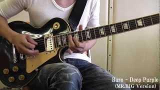 Burn - Deep Purple MR.BIG Version (生徒さんの演奏)