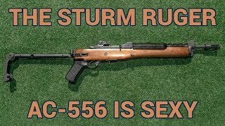 The Sturm Ruger AC-556 is a sexy little machine gun