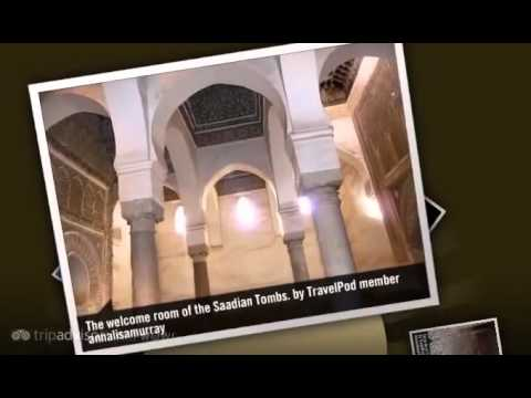 Saadian Tombs – Marrakech, Morocco