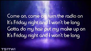 Come on come on turn the radio on. .. real lyrics....sia cheap thrills  Youtwo bd
