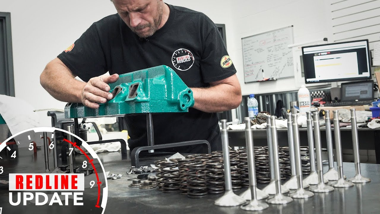 Patience and attention to detail: Keys to cylinder head assembly