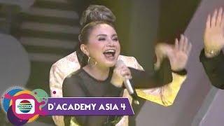 HAHA GA NYANGKA! Rossa Ketagihan Hoa Hoe!   Konser Kemenangan DA Asia 4