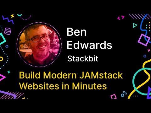 Build Modern JAMstack Websites in Minutes