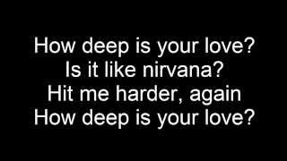 How deep is your love Lyrics Video + FREE Download