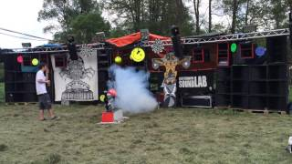 Step Evolution - Free Tekno Party - Klokocov 2016 - Czech Republic - 5