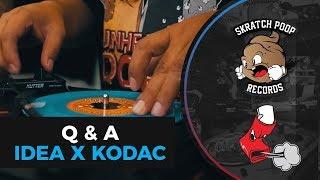 """Dj Idea and Kodac Visualz Scratch Session - Unheard Dope 7"""" - Portable Turntable Numark PT01 Scratch"""