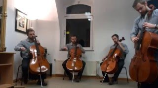 Wicked Game - 6 cellos cover !