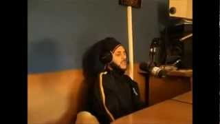 AlBorosie- Rastafari Anthem [Video live studio]