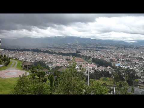 Cuenca, Ecuador – view from Turi